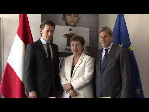 EU Children of Peace: Austria joins initiative