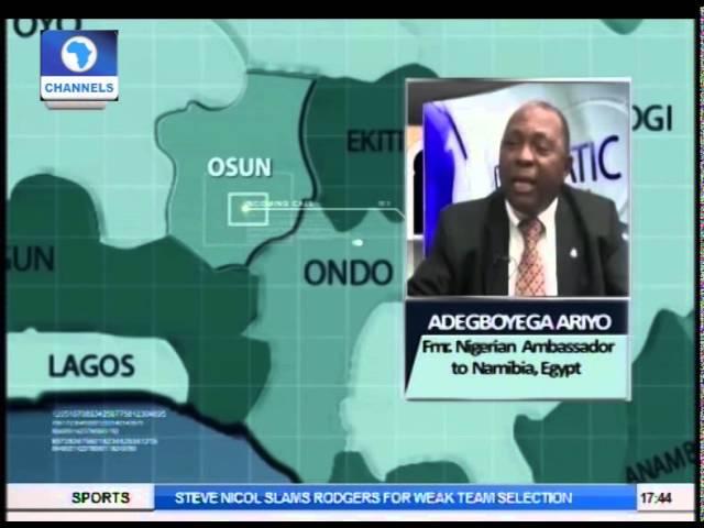 Adegboyega Ariyo Speaks On Power Transition In Burkina Faso