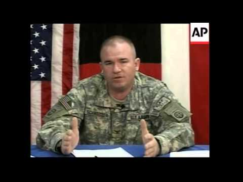US military comments on Taliban spring offensive