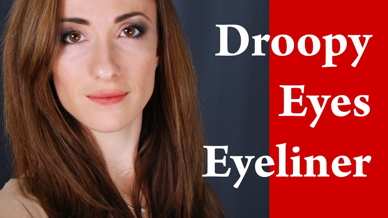 How To Apply Eyeliner On Hooded Eyes Droopy Eyes Round