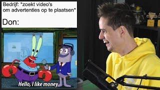 Bedrijven, geef mij geld