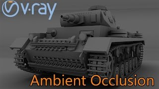 Vray | Ambient Occlusion