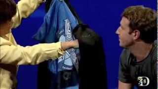 Mark Zuckerberg Reveals Illuminati Symbol on the Inside of his Hoodie