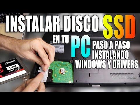 Cómo instalar un disco SSD en PC | Instalación limpia desde cero