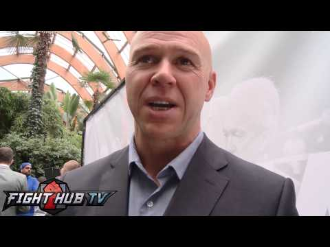 Dominic Ingle discussing Kell Brooks victory over Shawn Porter