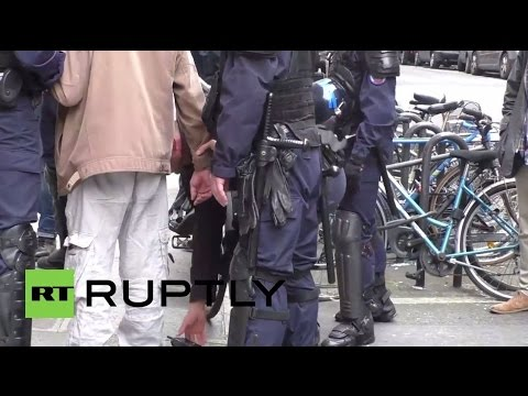 France: Man, reportedly armed, detained by police as far-right demo kicks off