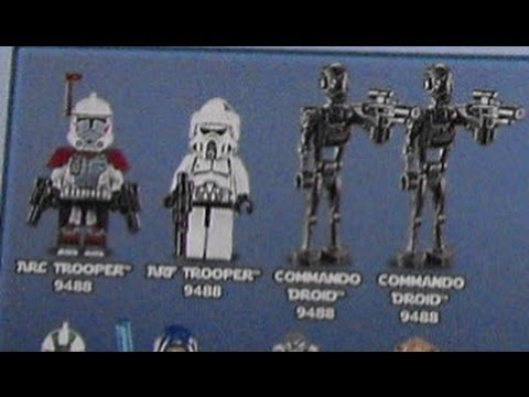 NEW 2012 LEGO Star Wars Winter Set Minifigures