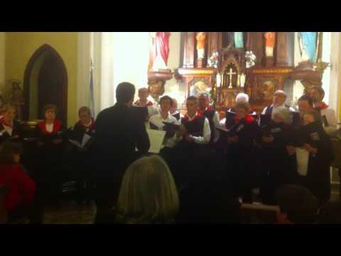 Coro vasco de cris, tandil, iglesia santa ana