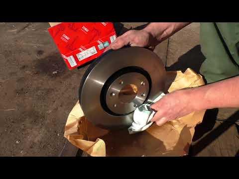 Замена тормозных дисков своими руками ситроен