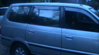 2000 Toyota Kijang LGX review (Start up, engine, exhaust, and in depth tour)