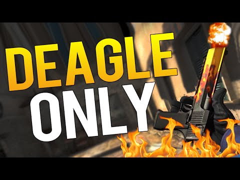 CS:GO - ONLY DEAGLE CHALLENGE - LEARNING RUSSIAN!