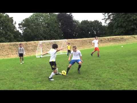 Fraser Stewart @ Bobby Charlton soccer and sports academy 2012