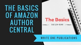 Amazon Author Central - Visibility On Amazon Author Page