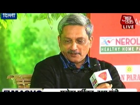 Agenda Aaj Tak: Defence Minister Manohar Parrikar talks about Indian Army