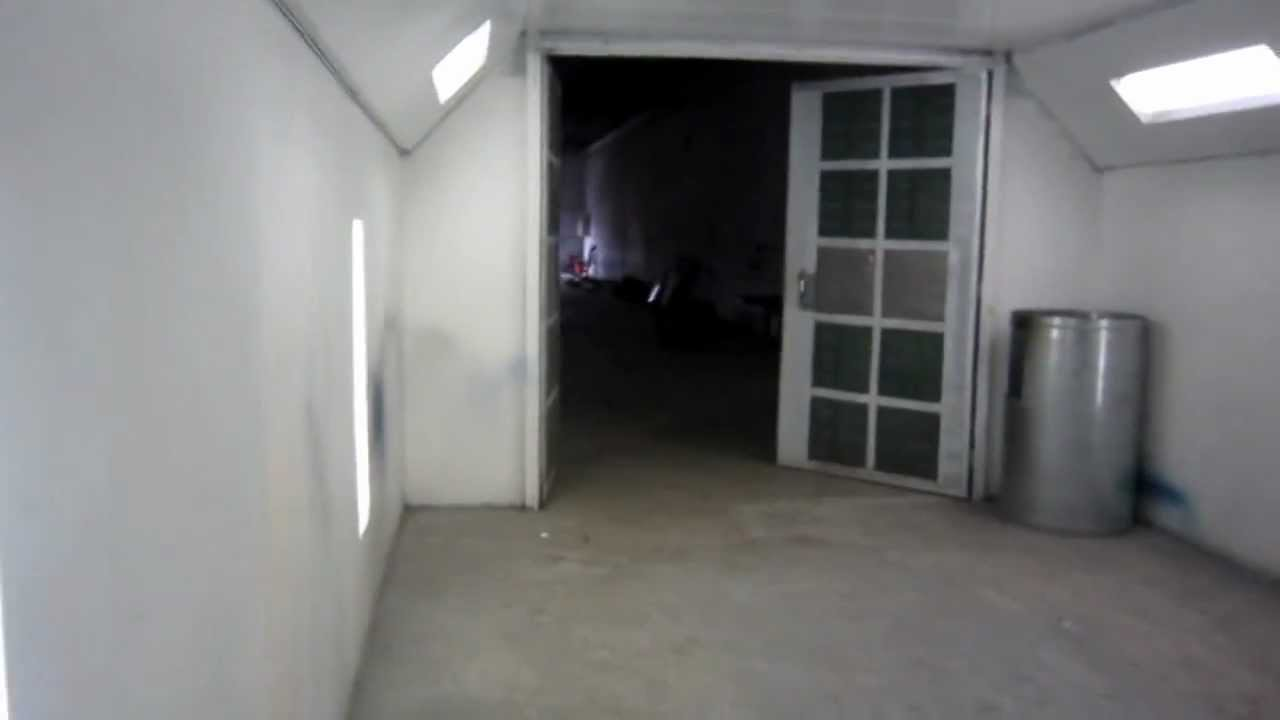 Automotive paint booth for sale. - YouTube