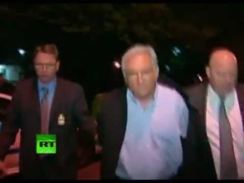 IMF Director Dominique Strauss-Kahn arrives at NYC court