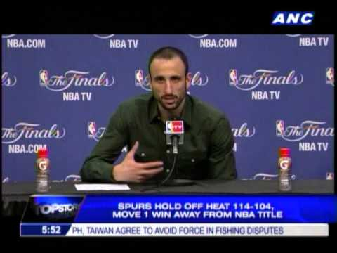 Ginobili leads Spurs to Game 5 win