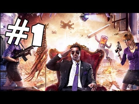 Saints Row 4 Walkthrough Part 1 *SPOILERS* Gameplay Review Let's Play Playthrough PC XBOX 360 PS3