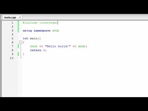Masa C++ Programming 教學 EP.2 [Understanding a Simple C++ Program] 粵語