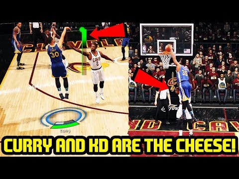 CURRY AND DURANT ARE UNSTOPPABLE! NBA LIVE 18 5 ON 5 GAMEPLAY!