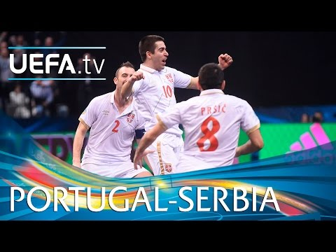 Futsal EURO Highlights: Hosts pip Portugal despite Ricardinho stunner