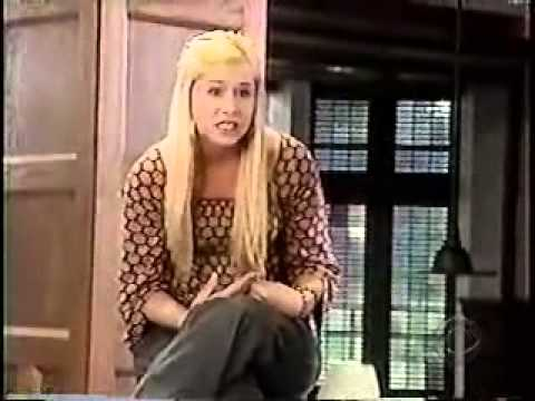 Blond Girl Heckling Her Way into a Dunk Tank on Guiding Light