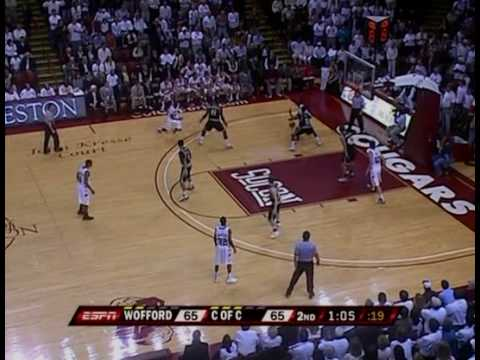 Wofford v. College of Charleston - 2010 Jan. 22 - Last 6 Minutes