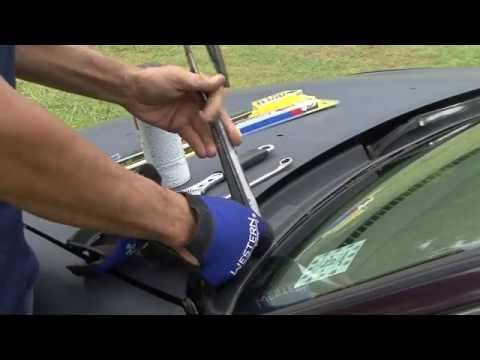 How to fix faded wiper arms