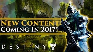 Destiny News - New Destiny Content in 2017! Iron Banner Returns! New Hotfix Update!