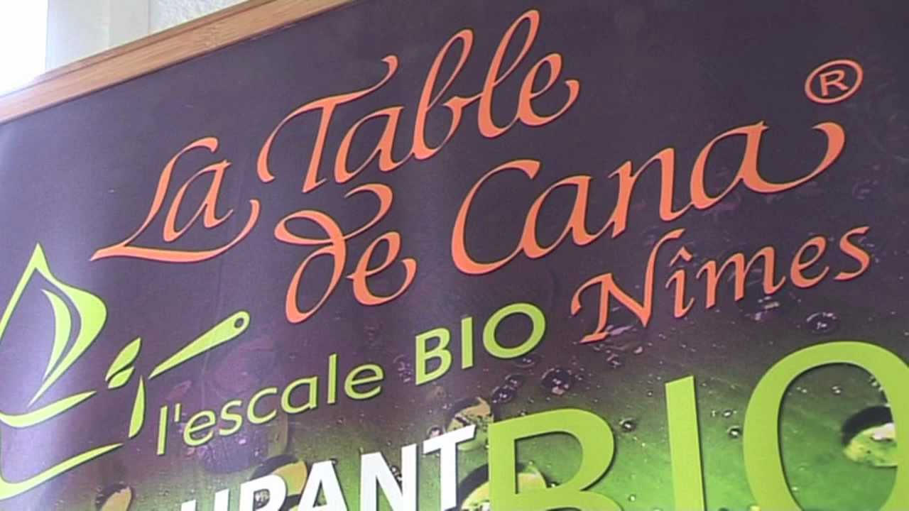 La table de cana restaurant taiteur l 39 escale bio n mes for Salon bio nimes