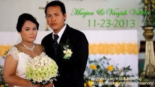 Wedding of Marjun de Gracia and Vanjah Valerie Aragon Dayagbil