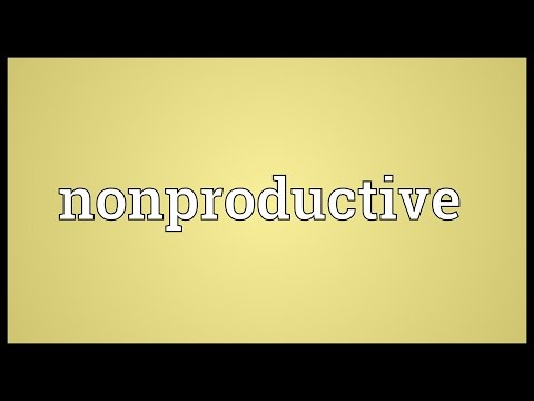 Header of nonproductive