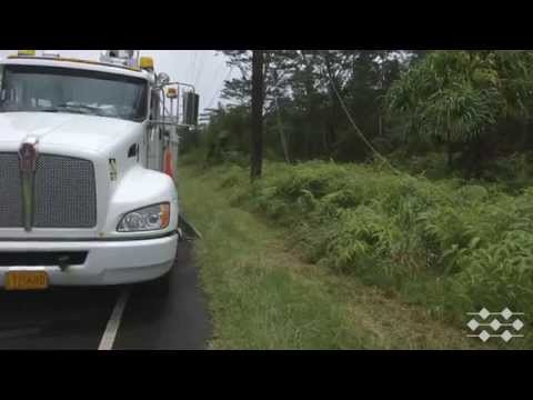 Hawaii Electric Light crews post Iselle (Part 3 of 4)