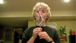 Boy Breaks Wine Glass with Voice