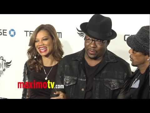Bobby Brown will.i.am's TRANS4M i.am.angel Grammy Party 2013 ARRIVALS at Avalon Hollywood