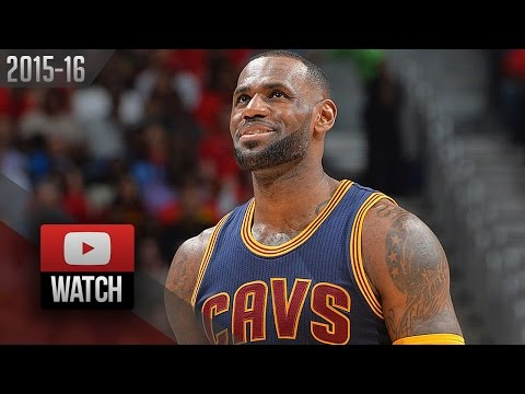 LeBron James Full Game 4 Highlights vs Hawks (2016.05.08)  - 21 Pts, 10 Reb, 9 Ast, SWEEP!