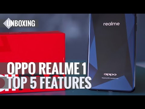 Oppo Realme 1 Unboxing & Top 5 Features