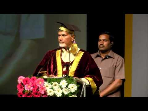 Sri N Chandrababu Naidu, Hon'ble CM, Speech on RGUKT First Convocation