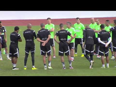 Algeria - Training Session (30/01) - Orange Africa Cup of Nations, EQUATORIAL GUINEA 2015