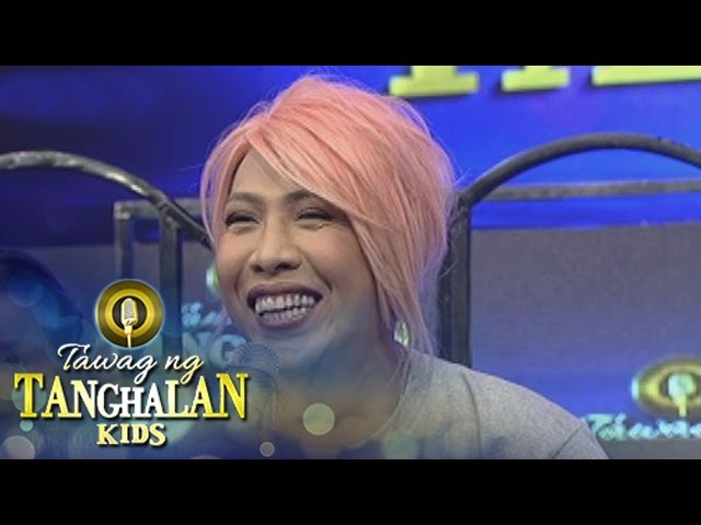 Tawag ng Tanghalan Kids: Vice recites a declamation piece