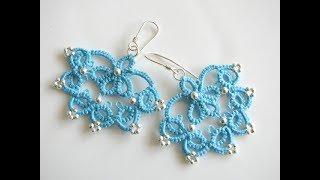 Tığişi örgü Kolye, küpe, takı ve tasarım Modelleri & Crochet