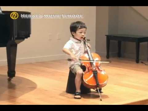 Jun Justin Yu 4 years old Music Videos