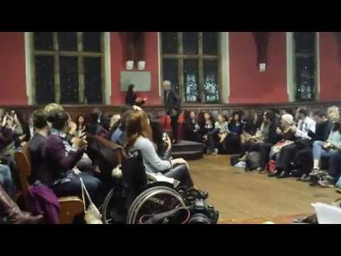 Ian Mckellen - You shall not pass - Oxford Union