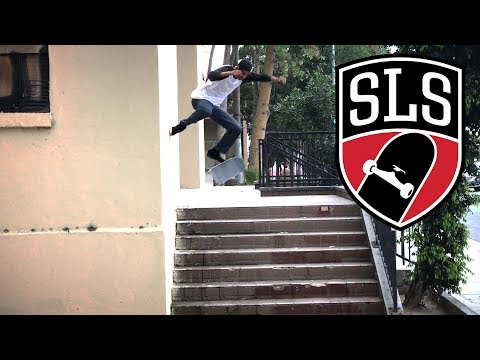 TRE FLIP FOOT PLANT - VINCENT LUEVANOS - SLS TRICK OF THE YEAR !!!