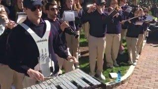 Penn Band performs 'My Shot' for Lin Manuel-Miranda at Penn Commencement  - 5-16-2016