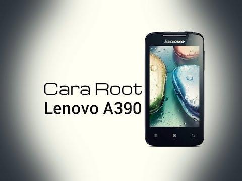Cara Root Lenovo A390