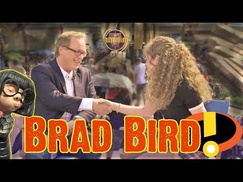 Incredibles 2 & Tomorrowland: Brad Bird In Disneyland Talks About Walt Disney & His Latest Movies!