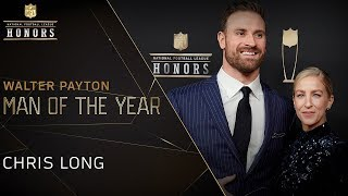 Chris Long Wins Walter Payton NFL Man of the Year Award | 2019 NFL Honors