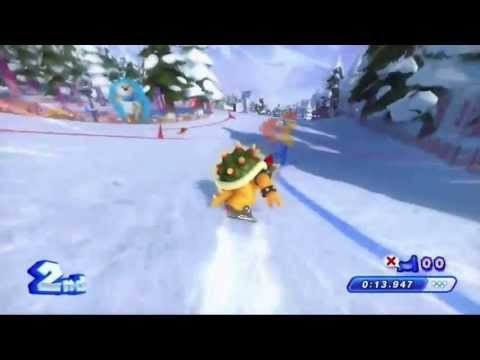 Sonic &amp; Mario 2014 Sochi Winter Olympics Trailer