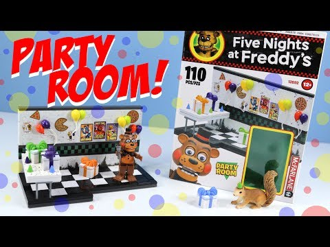 Five Nights at Freddy's 2 Party Room McFarlane Toy Review